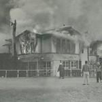 全焼した初代倶楽部ハウス