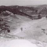 昭和30年頃の7番ホール(現練習場付近)